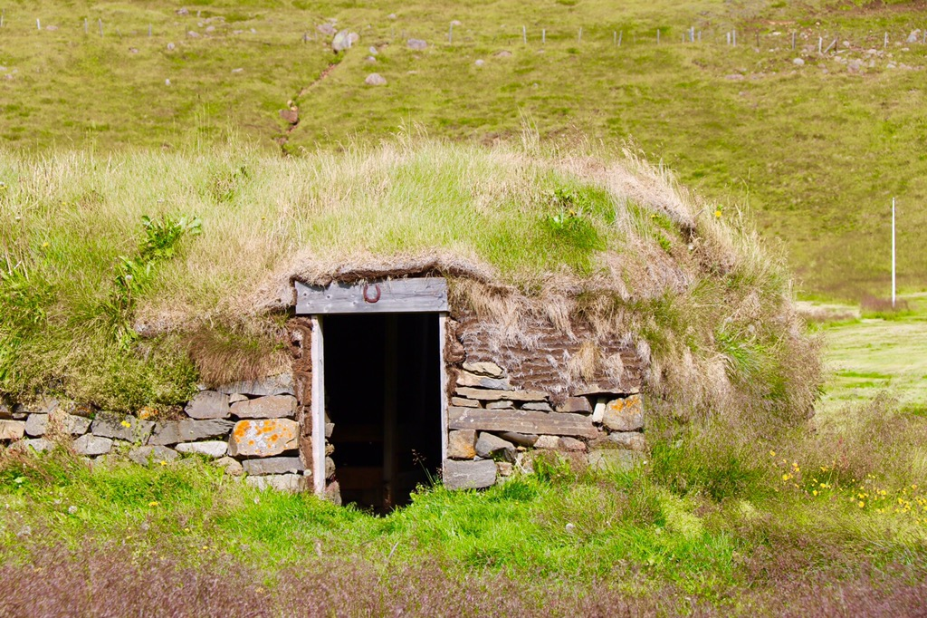 Iceland turf barn