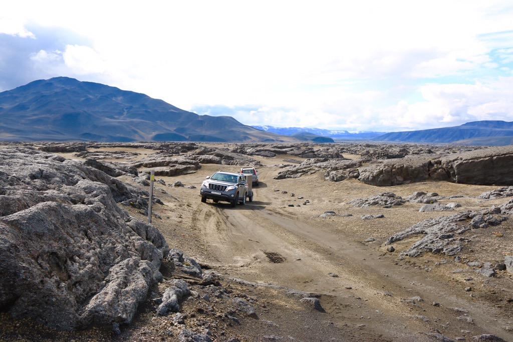 Road to Askja Iceland