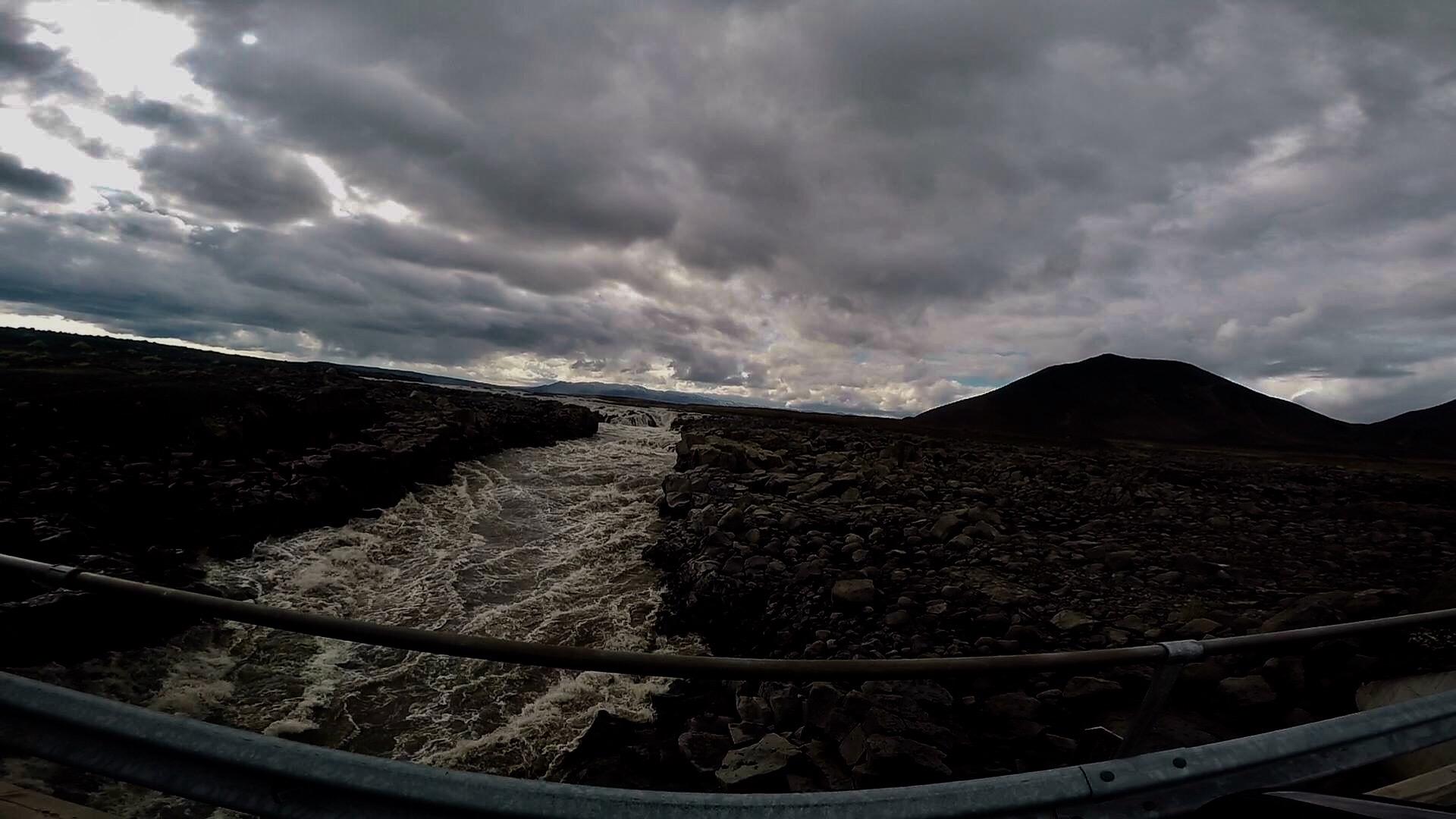 The Road to Askja Iceland