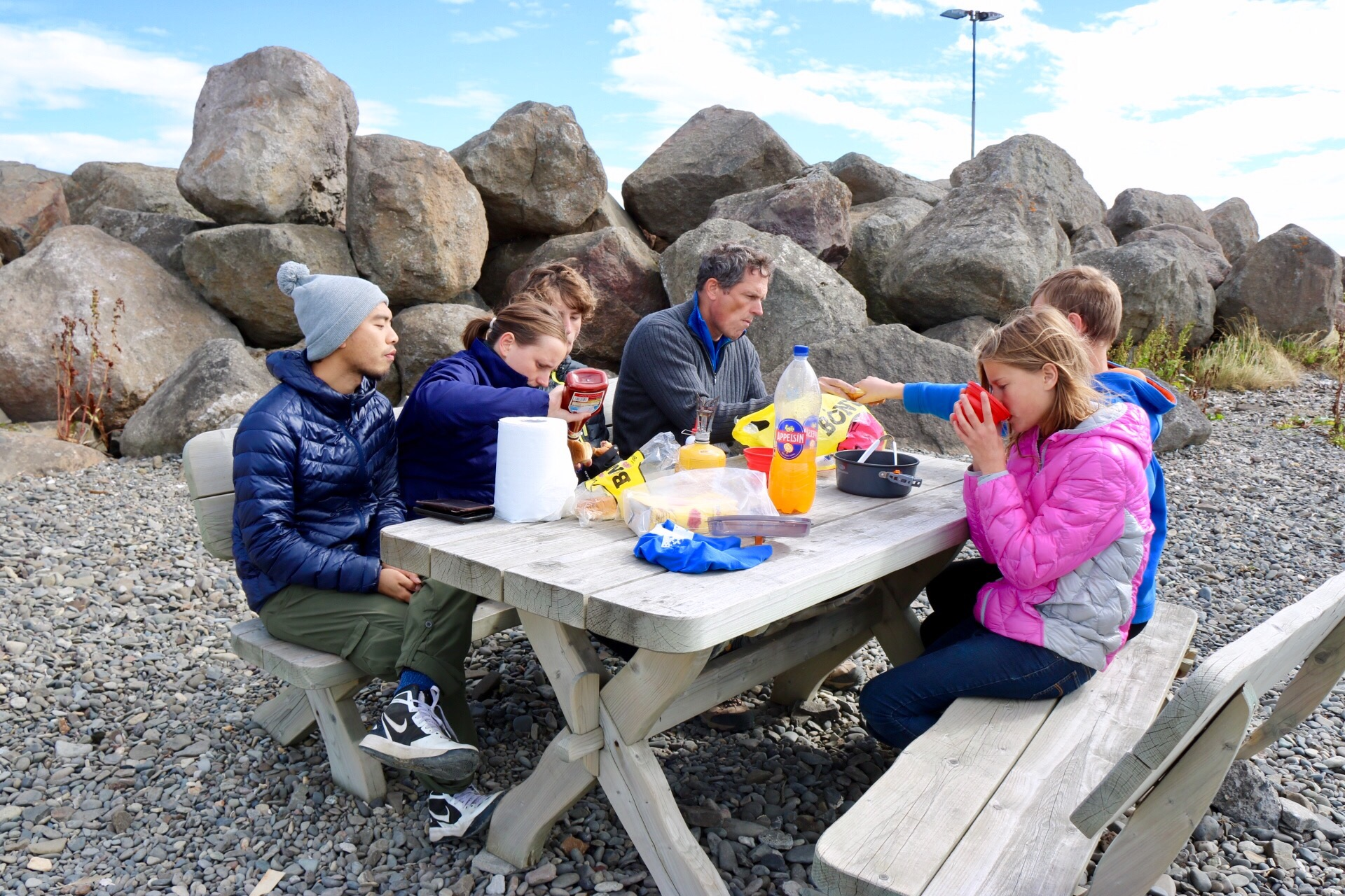 Picnic in Iceland