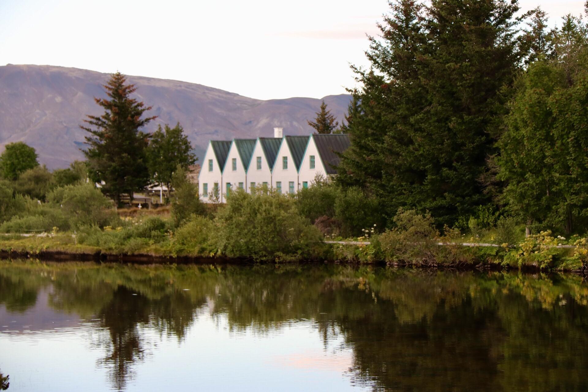 Iceland President's Summer Residence at Thingvellir