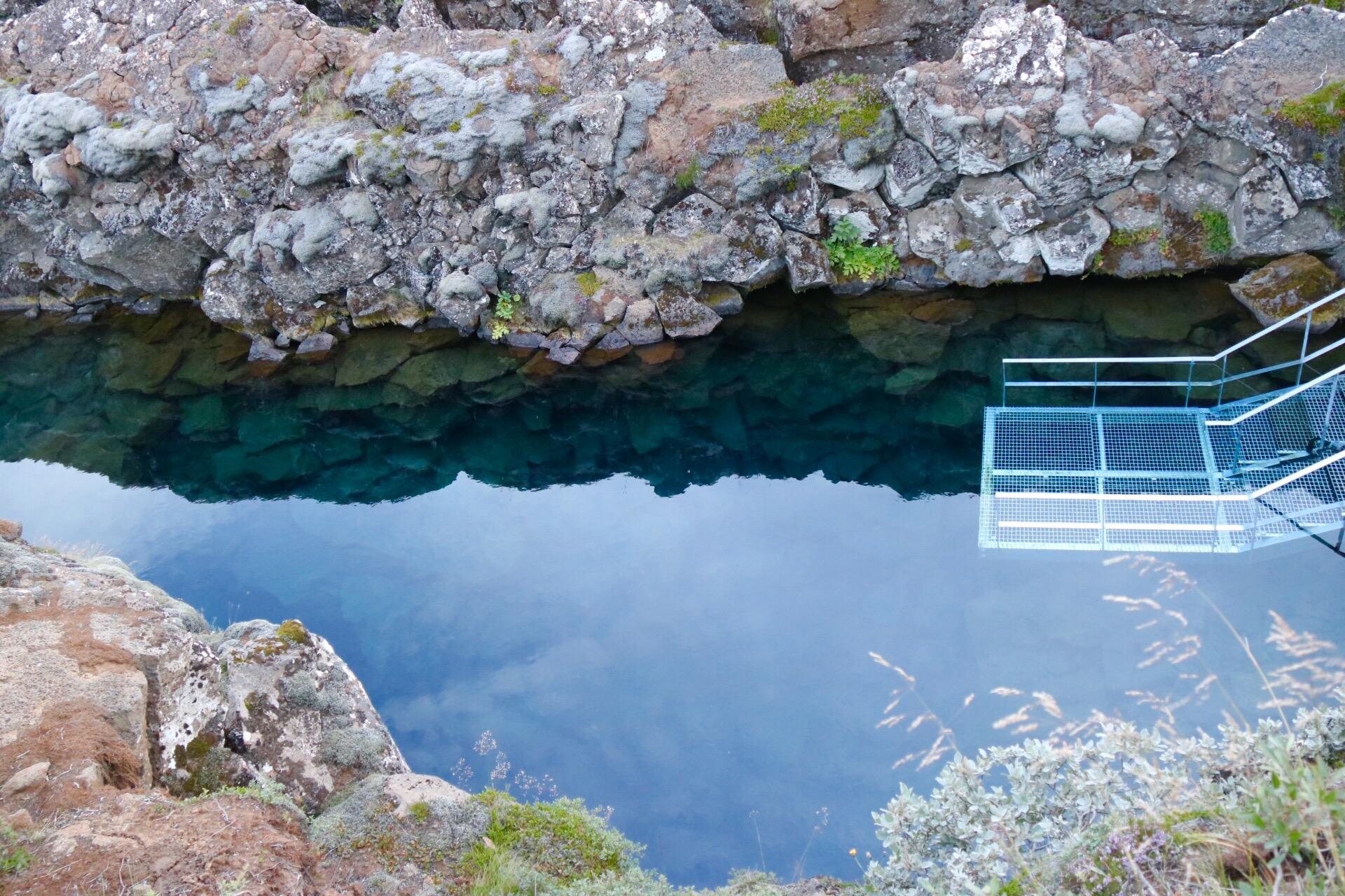 Silfra at Thingvellir National Park Iceland UNESCO