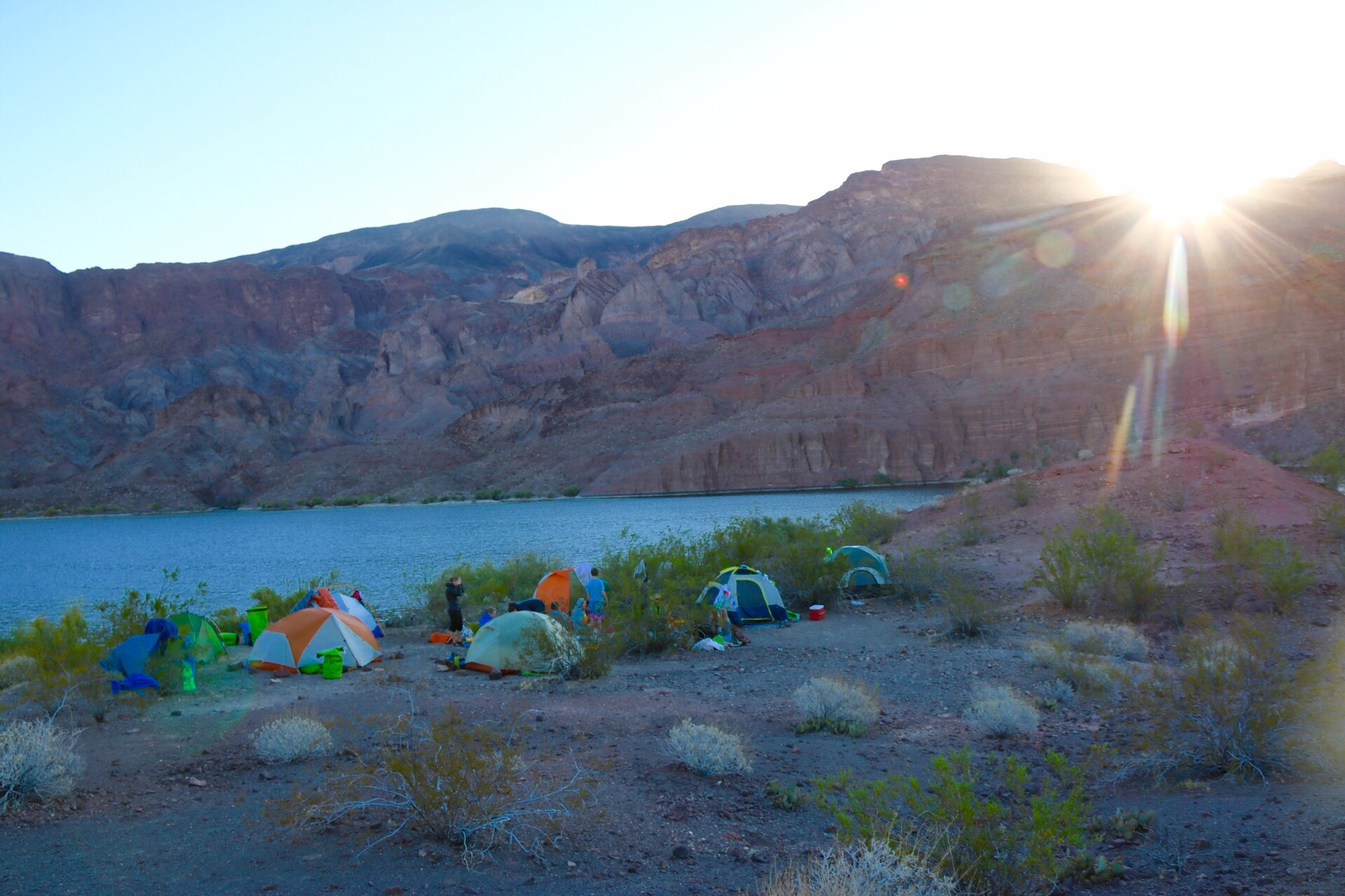 Kayaking From Willow Beach Marina to Nelson's Landing: Black Canyon of the Colorado River