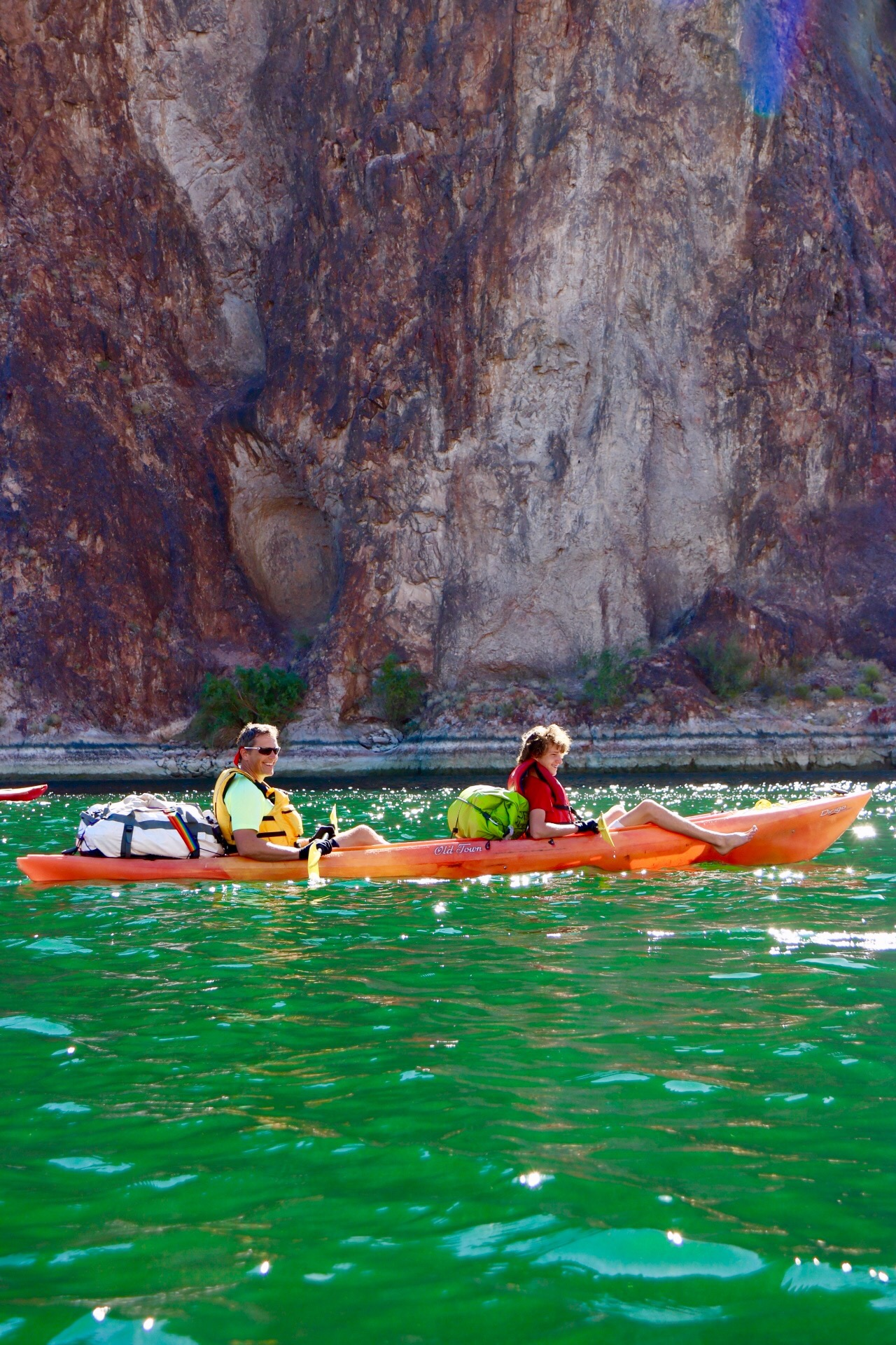 Kayaking The Colorado River From Willow Beach Marina To