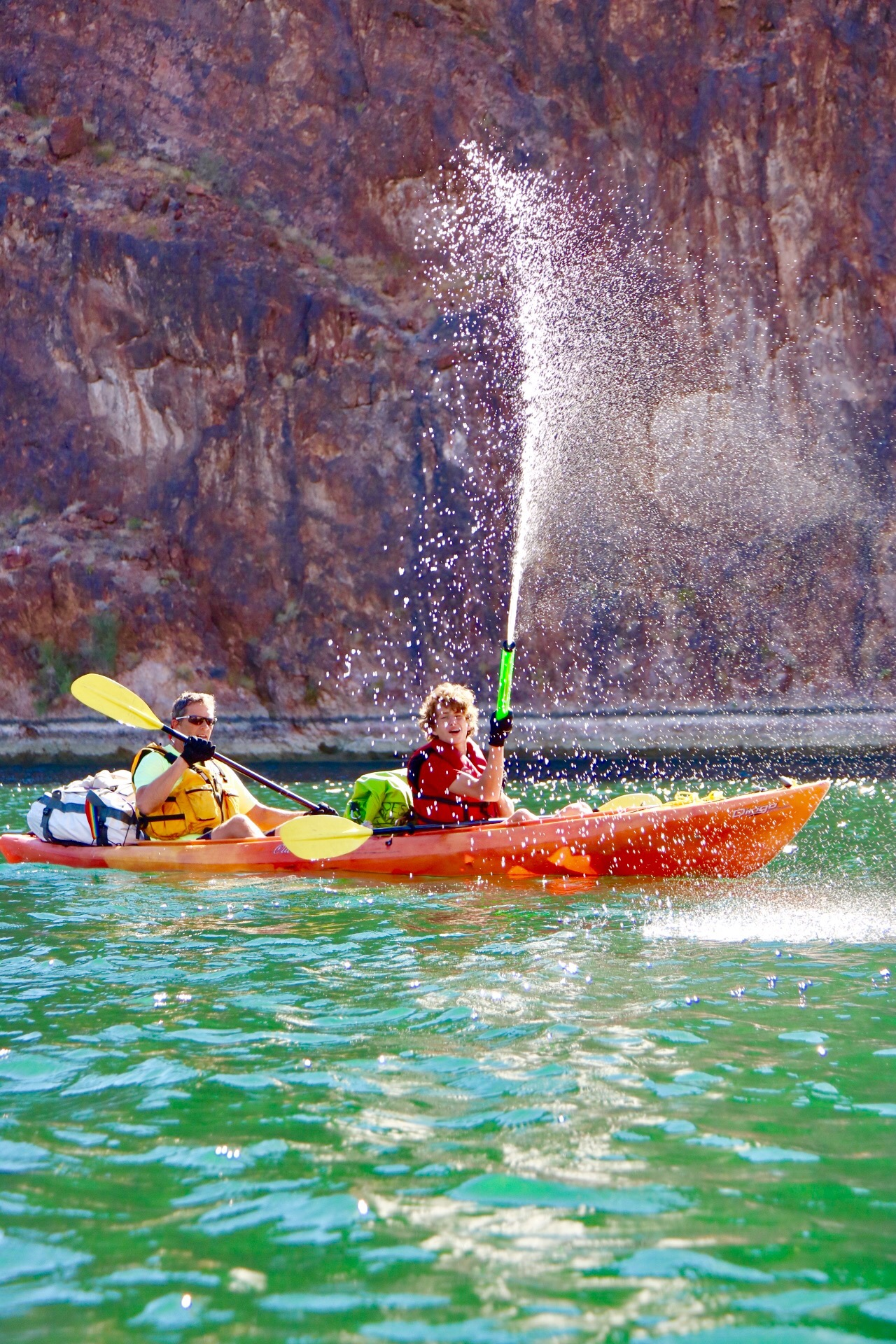 Kayaking From Willow Beach Marina To Nelson S Landing Black Canyon Of The Colorado River